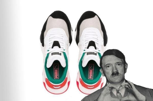 Pumas dictator sneakers content
