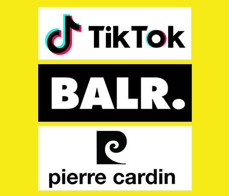 Tiktok,BALR, Pierre Cardin.400x400px